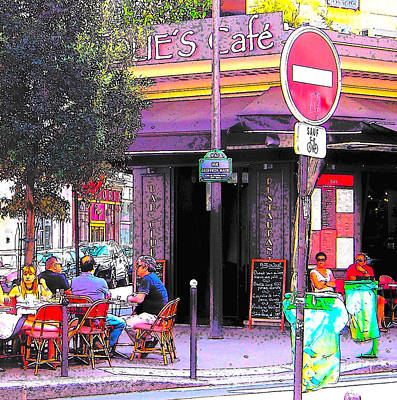 Photograph - Folies Cafe Paris by Jan Matson