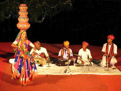 Ancient Dances Photograph - Folk Dance by Art Spectrum