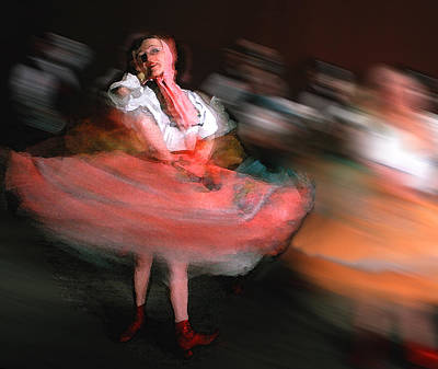 Photograph - Folk Dance by Vladimir Kholostykh