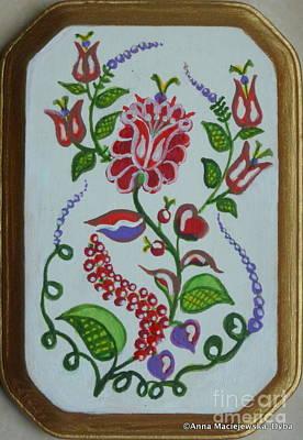 Folk Design Art Print by Anna Folkartanna Maciejewska-Dyba