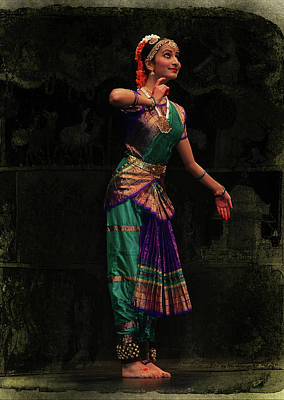 Fruits And Vegetables Still Life - Folk Life - Dances from India by Jeff Burgess
