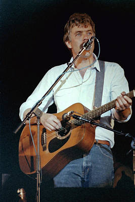 Photograph - Folk Musician Tom Rush by Mike Martin