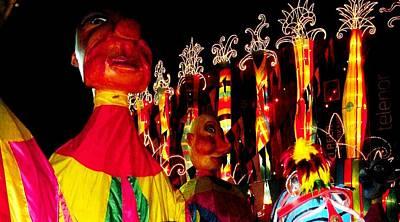 Photograph - Folk Puppets  by Fareeha Khawaja