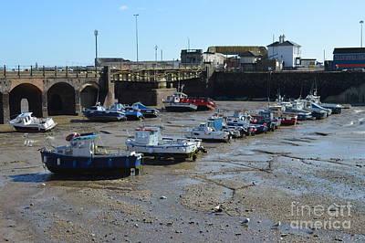 Folkestone Harbour Wall Art - Pyrography - Folkestone Kent Harbour by Paul West