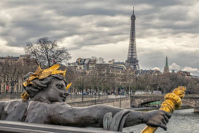 Torch River Photograph - Follow Me To The Eiffel Tower by Joan Carroll