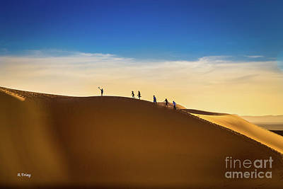 Photograph - Follow Me To The Sahara's Desert Dunes by Rene Triay Photography