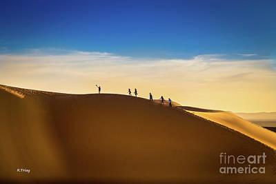 Photograph - Follow Me To The Sahara's Desert Dunes by Rene Triay Photography