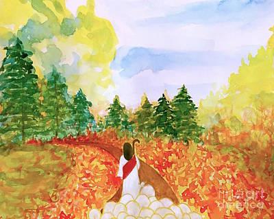 Painting - Follow Me  by Wonju Hulse