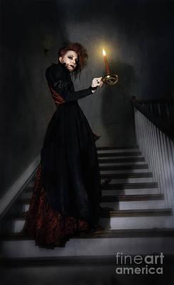 Follow Art Print by Spokenin RED