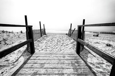 Photograph - Follow The Beach Path At Long Beach Island by John Rizzuto