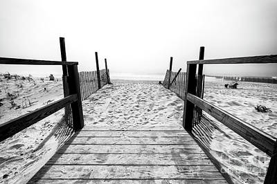 Photograph - Follow The Beach Path by John Rizzuto