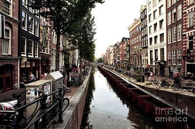 Photograph - Follow The Canal Water 2014 by John Rizzuto
