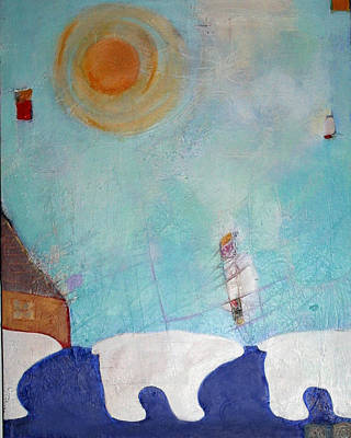 Kermode Painting - Follow The Crowd by Sherry Leigh Williams