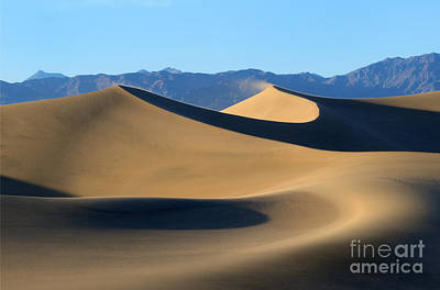 Death Valley Photograph - Follow The Curves by Mike Dawson