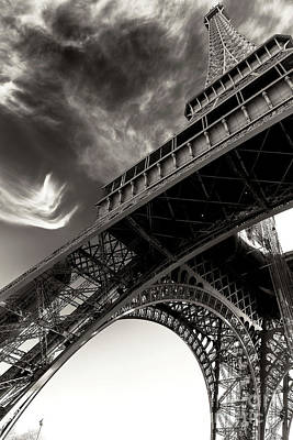 Photograph - Follow The Eiffel Tower by John Rizzuto