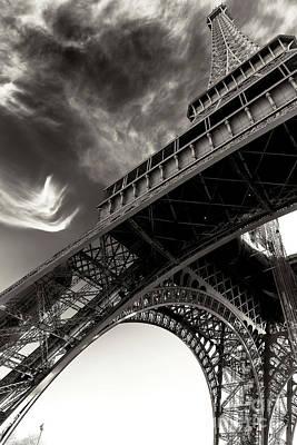 Photograph - Follow The Eiffel Tower Paris by John Rizzuto