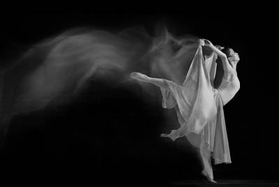 Dance Photograph - Follow The Flow by Andre Arment