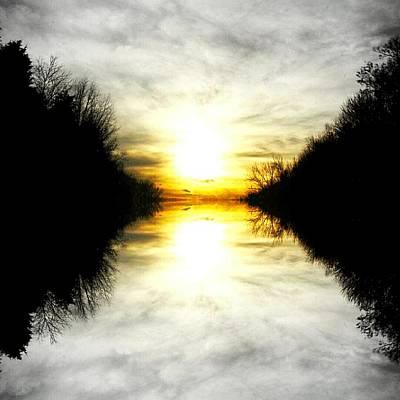 Inspirational Art Display Photograph - Follow The Light by Kimmy Hutchins