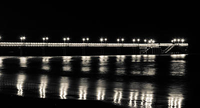 Beach Photograph - Follow The Lights by Andrea Mazzocchetti