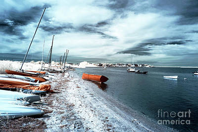 Photograph - Follow The Orange Boat by John Rizzuto