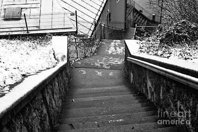 Photograph - Follow The Path Down In Salzburg by John Rizzuto