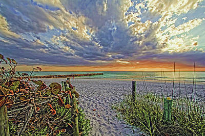 Photograph - Follow The Path by HH Photography of Florida