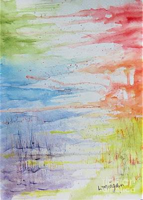 Painting - Follow The Rainbow by Laurie Morgan