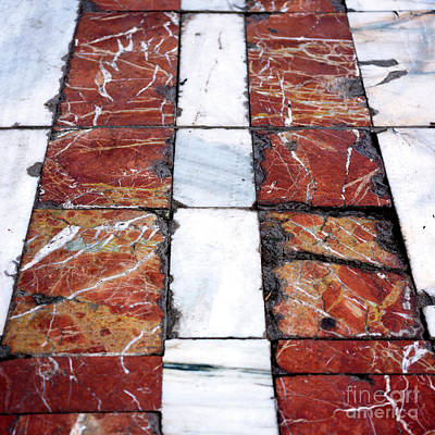Photograph - Follow The Red Tiles by John Rizzuto