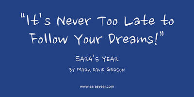 Digital Art - Follow Your Dreams by Mark David Gerson