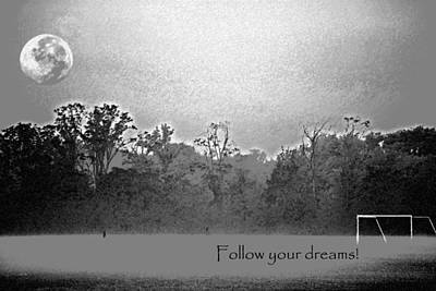 Follow Your Dreams Art Print by Peter  McIntosh