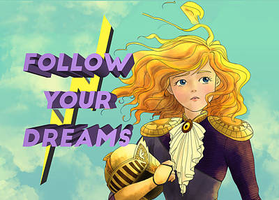 Painting - Follow Your Dreams by Reynold Jay