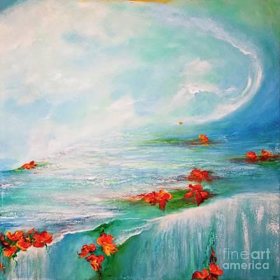 Painting -  Follow Your Dreams by Teresa Wegrzyn