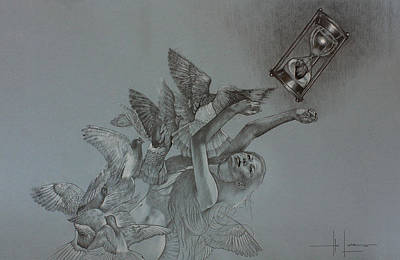 Drawing - Follow Your Heart by Hari Lualhati
