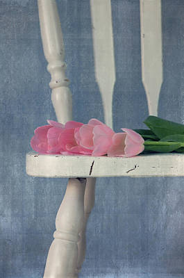 Tulip Chair Photograph - Follow Your Heart by Kim Hojnacki