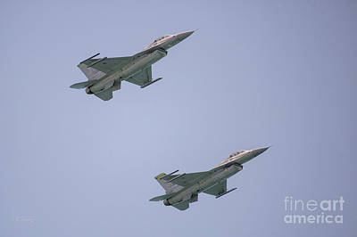 Photograph - Follow Your Leader General Dynamics F-16 by Rene Triay Photography