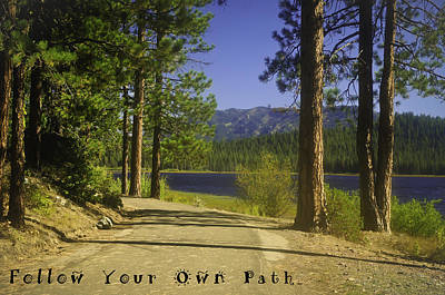 Photograph - Follow Your Own Path by Sherri Meyer