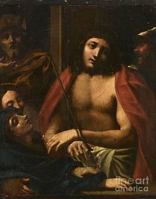 Follower Of Correggio  Art Print