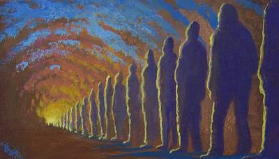 Followers Of The Light Art Print by Marjorie Hause