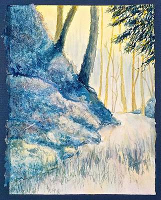 Painting - Following The Path by Carolyn Rosenberger