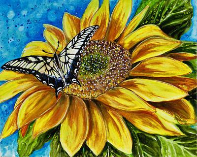 Following The Sun Original by Vivian Holabird
