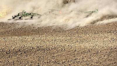 Photograph - Following Tillage 2 by Jerry Sodorff