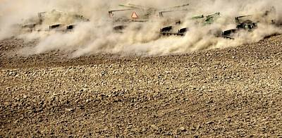 Photograph - Following Tillage Action by Jerry Sodorff