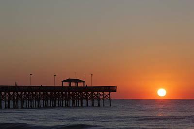 Photograph - Folly Beach by CA  Johnson