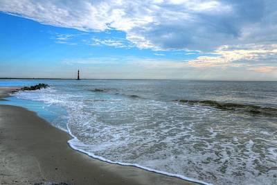 Photograph - Folly Beach by Carol Montoya