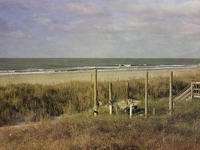 Photograph - Folly Beach In The Morning by Michael Colgate