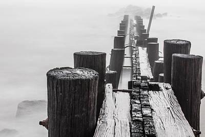 Photograph - Folly Beach Jetty  by John McGraw
