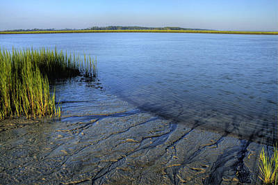 Lowcountry Marshes Photograph - Folly Beach Marsh  by Dustin K Ryan