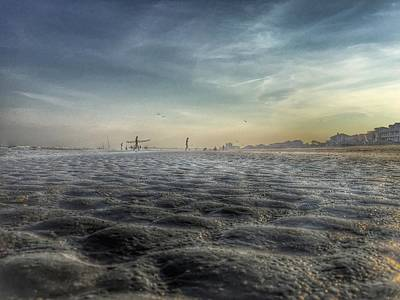 Photograph - Folly Beach by Pat Moore