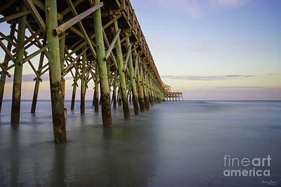 Photograph - Folly Beach Pier Beauty by Jennifer White