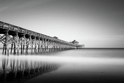 Piers Wall Art - Photograph - Folly Beach Pier by Ivo Kerssemakers